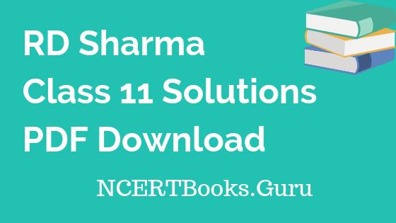 RD-Sharma-Class-11-Solutions