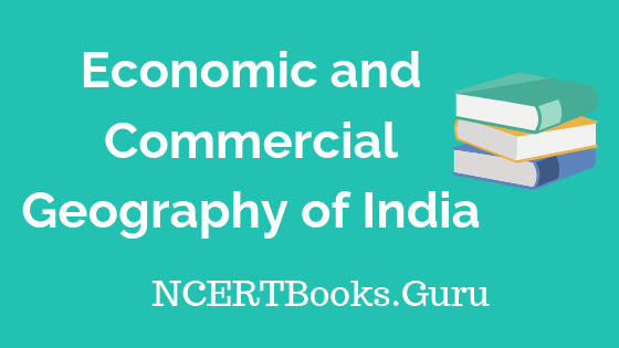 Economic and Commercial Geography of India