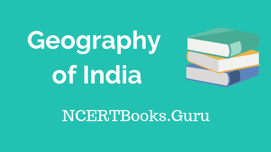 Old NCERT Geography of India Book