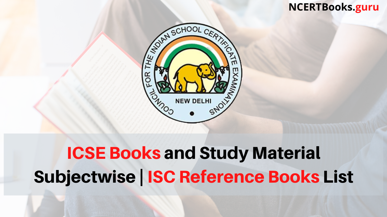 ICSE Books and Study Material