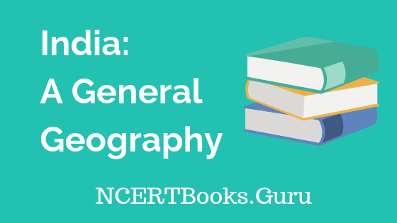 Old NCERT India A General Geography Book