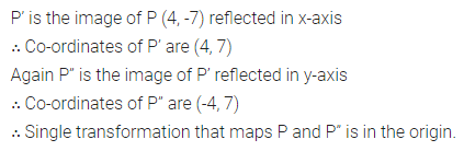 ML Aggarwal Class 10 Solutions for ICSE Maths Chapter 10 Reflection Chapter Test 1