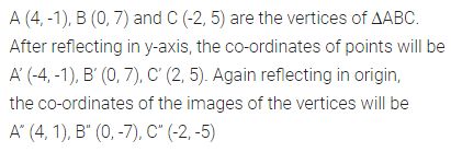 ML Aggarwal Class 10 Solutions for ICSE Maths Chapter 10 Reflection Chapter Test 4