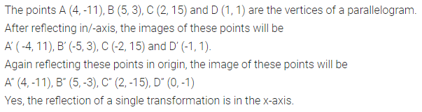 ML Aggarwal Class 10 Solutions for ICSE Maths Chapter 10 Reflection Chapter Test 5