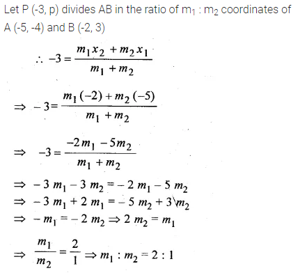 ML Aggarwal Class 10 Solutions for ICSE Maths Chapter 11 Section Formula Chapter Test 13
