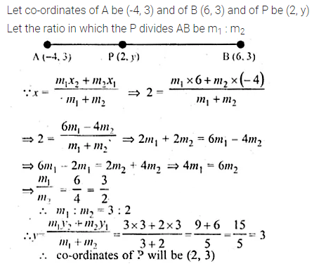 ML Aggarwal Class 10 Solutions for ICSE Maths Chapter 11 Section Formula Chapter Test 16