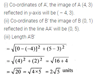 ML Aggarwal Class 10 Solutions for ICSE Maths Chapter 11 Section Formula Chapter Test 4