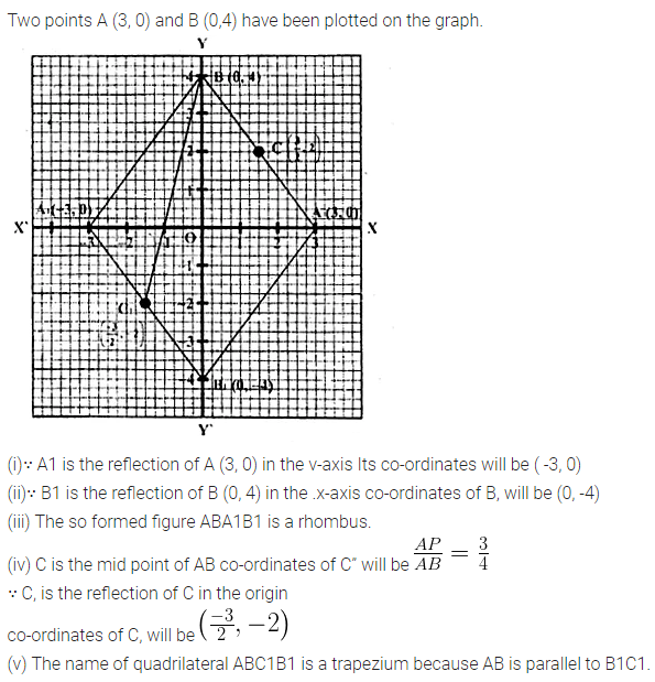 ML Aggarwal Class 10 Solutions for ICSE Maths Chapter 11 Section Formula Ex 11 12