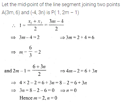 ML Aggarwal Class 10 Solutions for ICSE Maths Chapter 11 Section Formula Ex 11 14