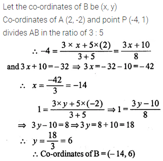 ML Aggarwal Class 10 Solutions for ICSE Maths Chapter 11 Section Formula Ex 11 19