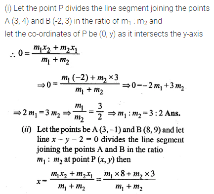 ML Aggarwal Class 10 Solutions for ICSE Maths Chapter 11 Section Formula Ex 11 24