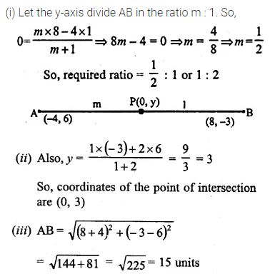 ML Aggarwal Class 10 Solutions for ICSE Maths Chapter 11 Section Formula Ex 11 26