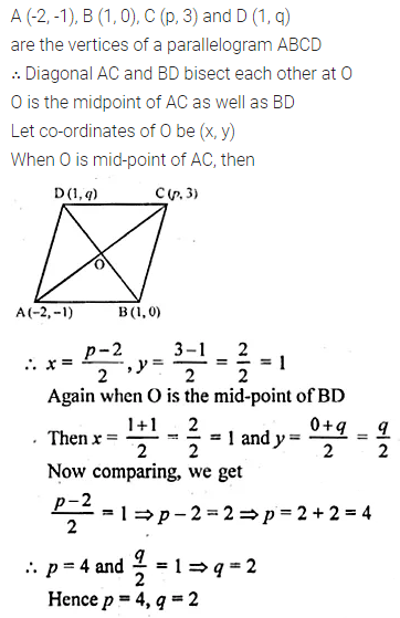 ML Aggarwal Class 10 Solutions for ICSE Maths Chapter 11 Section Formula Ex 11 30