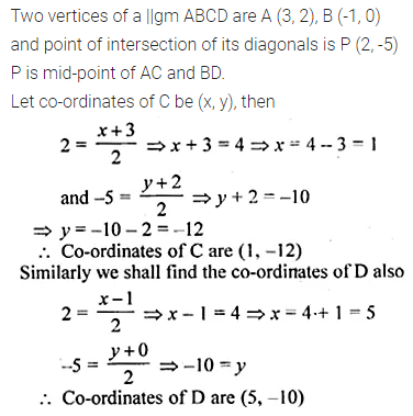 ML Aggarwal Class 10 Solutions for ICSE Maths Chapter 11 Section Formula Ex 11 31