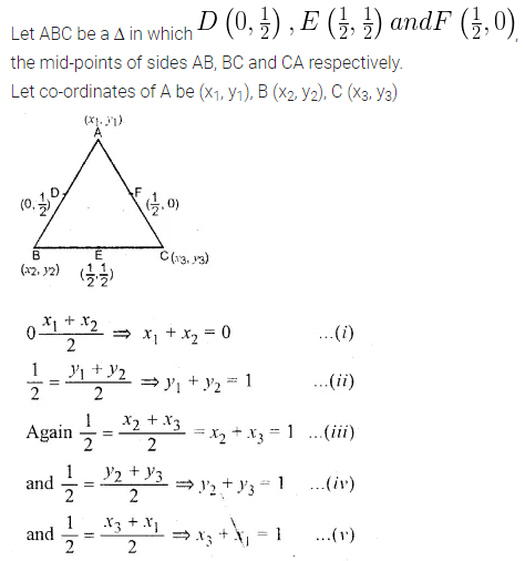 ML Aggarwal Class 10 Solutions for ICSE Maths Chapter 11 Section Formula Ex 11 34