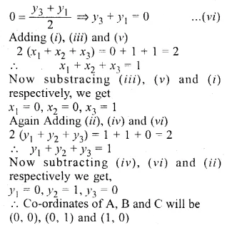 ML Aggarwal Class 10 Solutions for ICSE Maths Chapter 11 Section Formula Ex 11 35