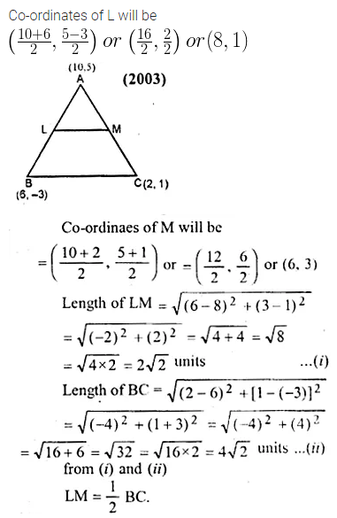 ML Aggarwal Class 10 Solutions for ICSE Maths Chapter 11 Section Formula Ex 11 38
