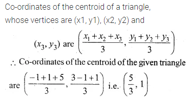 ML Aggarwal Class 10 Solutions for ICSE Maths Chapter 11 Section Formula Ex 11 43