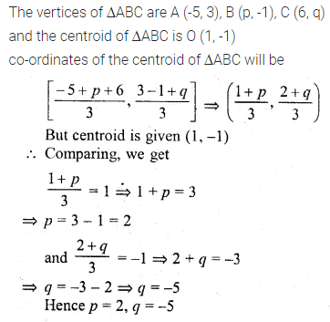 ML Aggarwal Class 10 Solutions for ICSE Maths Chapter 11 Section Formula Ex 11 45