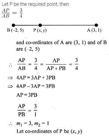ML Aggarwal Class 10 Solutions for ICSE Maths Chapter 11 Section Formula Ex 11 9