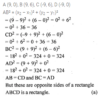 ML Aggarwal Class 10 Solutions for ICSE Maths Chapter 11 Section Formula MCQS 1