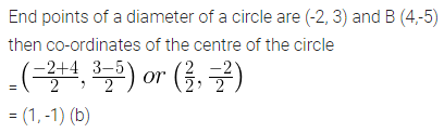 ML Aggarwal Class 10 Solutions for ICSE Maths Chapter 11 Section Formula MCQS 4