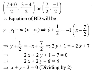 ML Aggarwal Class 10 Solutions for ICSE Maths Chapter 12 Equation of a Straight Line Chapter Test 15