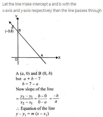 ML Aggarwal Class 10 Solutions for ICSE Maths Chapter 12 Equation of a Straight Line Chapter Test 18