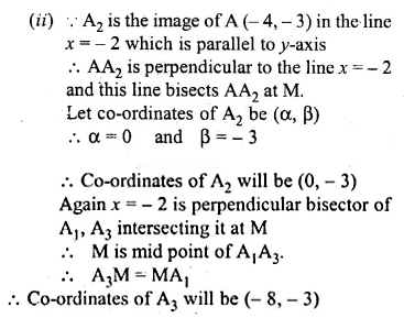 ML Aggarwal Class 10 Solutions for ICSE Maths Chapter 12 Equation of a Straight Line Chapter Test 9