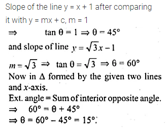 ML Aggarwal Class 10 Solutions for ICSE Maths Chapter 12 Equation of a Straight Line Ex 12.1 11