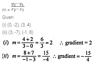 ML Aggarwal Class 10 Solutions for ICSE Maths Chapter 12 Equation of a Straight Line Ex 12.1 18