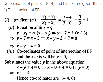 ML Aggarwal Class 10 Solutions for ICSE Maths Chapter 12 Equation of a Straight Line Ex 12.1 19