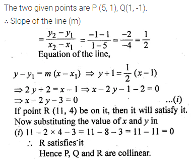 ML Aggarwal Class 10 Solutions for ICSE Maths Chapter 12 Equation of a Straight Line Ex 12.1 21