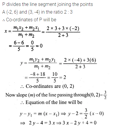 ML Aggarwal Class 10 Solutions for ICSE Maths Chapter 12 Equation of a Straight Line Ex 12.1 28