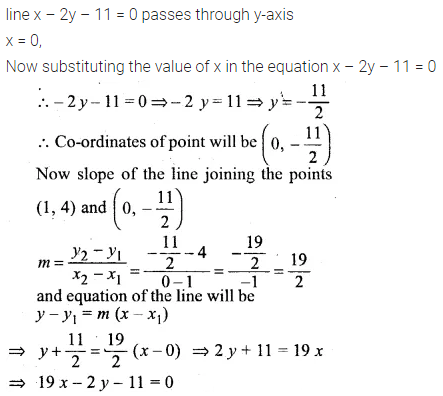 ML Aggarwal Class 10 Solutions for ICSE Maths Chapter 12 Equation of a Straight Line Ex 12.1 29