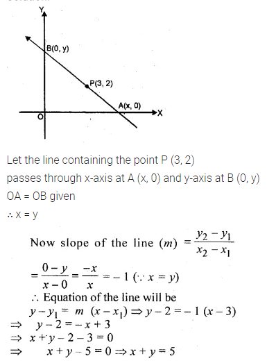 ML Aggarwal Class 10 Solutions for ICSE Maths Chapter 12 Equation of a Straight Line Ex 12.1 30