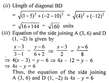 ML Aggarwal Class 10 Solutions for ICSE Maths Chapter 12 Equation of a Straight Line Ex 12.1 32
