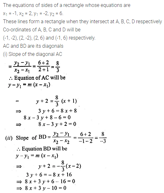 ML Aggarwal Class 10 Solutions for ICSE Maths Chapter 12 Equation of a Straight Line Ex 12.1 36