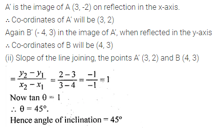 ML Aggarwal Class 10 Solutions for ICSE Maths Chapter 12 Equation of a Straight Line Ex 12.1 38