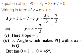 ML Aggarwal Class 10 Solutions for ICSE Maths Chapter 12 Equation of a Straight Line Ex 12.1 9