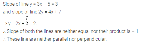 ML Aggarwal Class 10 Solutions for ICSE Maths Chapter 12 Equation of a Straight Line Ex 12.2 1