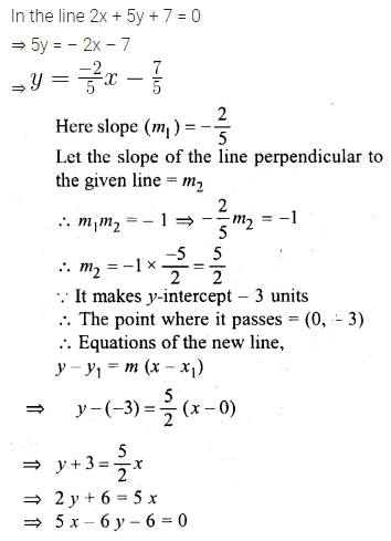ML Aggarwal Class 10 Solutions for ICSE Maths Chapter 12 Equation of a Straight Line Ex 12.2 12