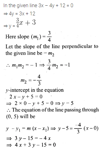 ML Aggarwal Class 10 Solutions for ICSE Maths Chapter 12 Equation of a Straight Line Ex 12.2 13