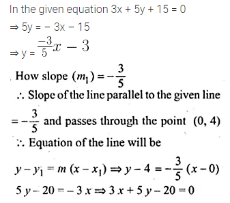 ML Aggarwal Class 10 Solutions for ICSE Maths Chapter 12 Equation of a Straight Line Ex 12.2 15