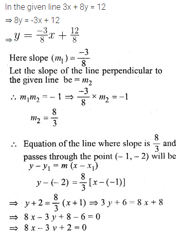 ML Aggarwal Class 10 Solutions for ICSE Maths Chapter 12 Equation of a Straight Line Ex 12.2 17