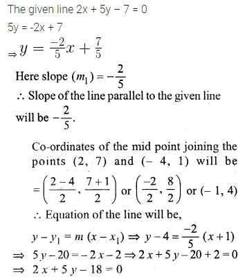 ML Aggarwal Class 10 Solutions for ICSE Maths Chapter 12 Equation of a Straight Line Ex 12.2 19