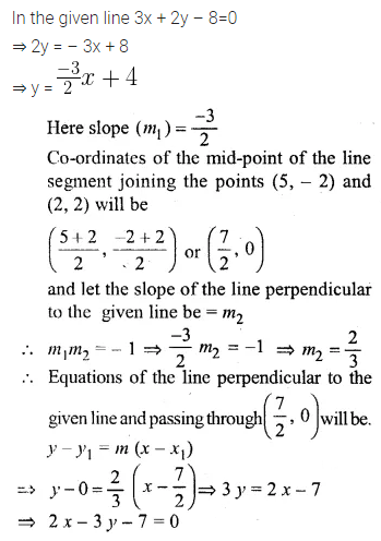 ML Aggarwal Class 10 Solutions for ICSE Maths Chapter 12 Equation of a Straight Line Ex 12.2 20