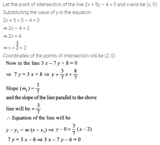 ML Aggarwal Class 10 Solutions for ICSE Maths Chapter 12 Equation of a Straight Line Ex 12.2 21