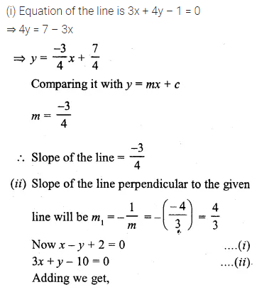 ML Aggarwal Class 10 Solutions for ICSE Maths Chapter 12 Equation of a Straight Line Ex 12.2 22
