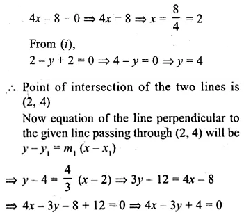 ML Aggarwal Class 10 Solutions for ICSE Maths Chapter 12 Equation of a Straight Line Ex 12.2 23